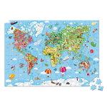 Janod-vloerpuzzel-Wereldkaart