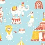 Kinderkamer-behang-Majvillan-Circus-blauw
