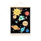 Retro-schoolplaat-zonnestelsel-voorkant