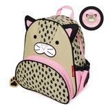Skip-hop-backpack-leopard-luiaard-side