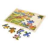 Melissa-doug-houten-puzzel-dino