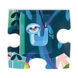 Janod Verrassingspuzzel - Feest in de jungle puzzelstukje