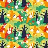 Kinderkamer-behang-zomerbos-Bora-Illustraties