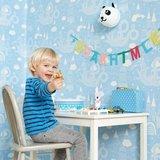 Kinderkamer-behang-Majvillan-Dragon-Light-Blue-kamer