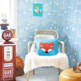 Kinderkamer-behang-Majvillan-Dragon-Light-Blue-inrichting
