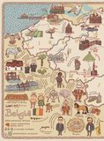 Atlas-wereldboek-kaarten-Aleksandra-en-Daniel-Mizielinscy-België