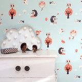 Kinderkamer-behang-egel-Bora-Illustraties-detail