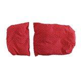 Rieten-poppenwagen-rood-met-witte-stippen-dekbed