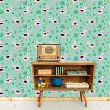 Kinderkamer-behang-Bora-Illustraties-Flamingos-kamer