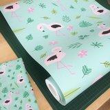 Kinderkamer-behang-Bora-Illustraties-Flamingos-rol