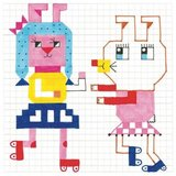 Djeco-kleurset-pixels-hippe-meisjes-voorbeeld