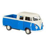 Volkswagen-pickup-blauw-schaalmodel