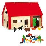 Houten-boerderij-Nemmer-met-speelfiguren