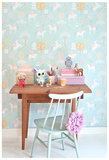 Majvillan-Kinderkamer-behang-True-Unicorns-Turquiose-Kamer-2