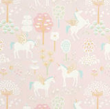 Majvillan-Kinderkamer-behang-True-Unicorns-Pink-vierkant