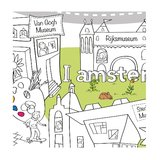 Kleurplaat-Amsterdam-detail