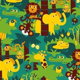 Bora behang Jungle