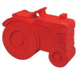 Blafre broodtrommel 'tractor' rood