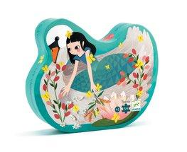 Djeco legpuzzel De dame met de zwaan (54 stukjes)