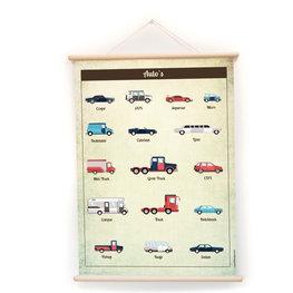 Nieuwe schoolplaat Auto's