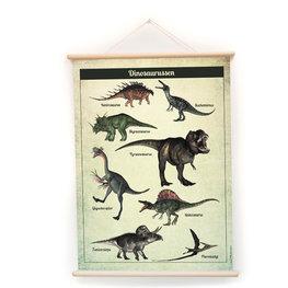 Nieuwe schoolplaat Dinosaurussen