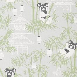 Behang Majvillan Bambu Grey