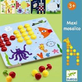 Djeco insteekmozaïek Mosaico maxi