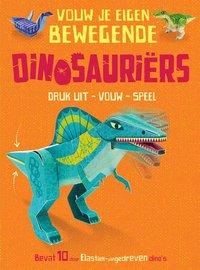 Vouw je eigen bewegende dinosauriërs