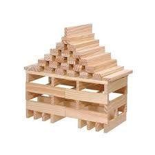 Kapla houten plankjes blank 100