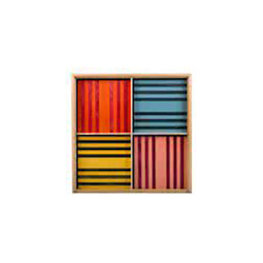 Kapla houten plankjes gekleurd 100