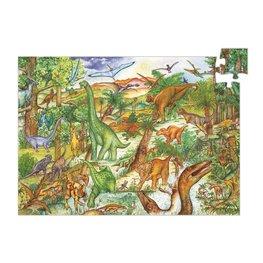 Djeco puzzel Dinosaurussen - 100 stkjs