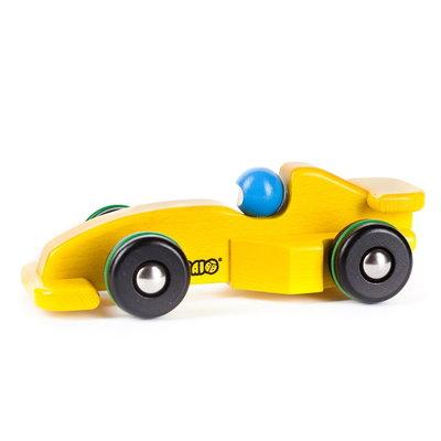 Bajo Raceauto Formule 1 - geel