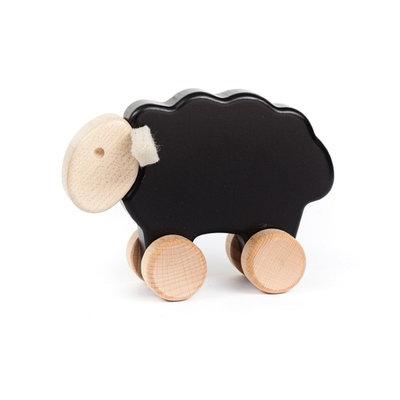 Bajo houten schaap - zwart