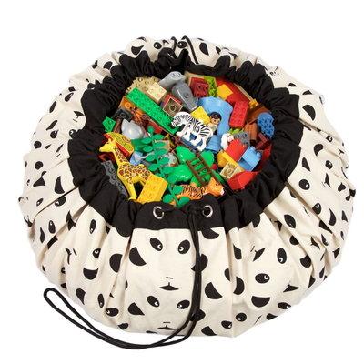 Play&Go speelkleed en opbergzak Panda