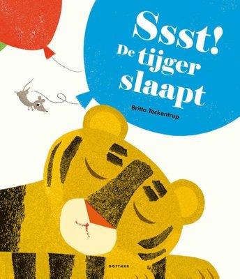 Ssst! De tijger slaapt - voorleesboek