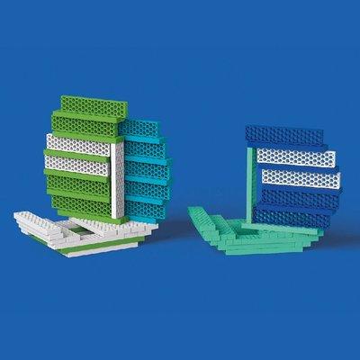 BioBlo Hello Box Ocean - 100 eco bouwblokken