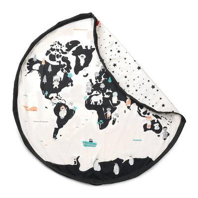 Play&Go Worldmap speelkleed en opbergzak