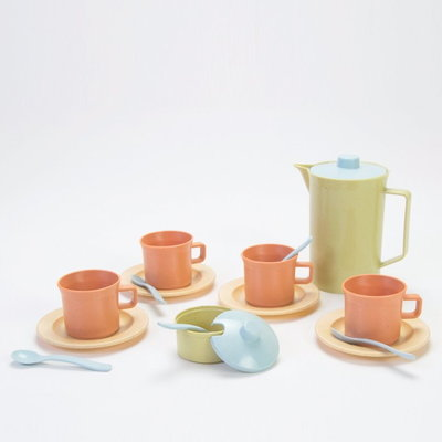 Dantoy TINY BIOplastic Koffieset 17-delig