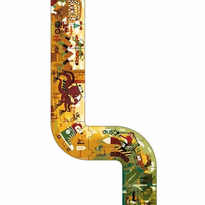 Londji - My Race puzzel - 3 meter