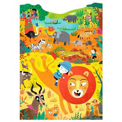 Londji - Roar - wilde dieren puzzel