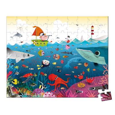 Janod Onderwaterwereld puzzel - 100 stkjs