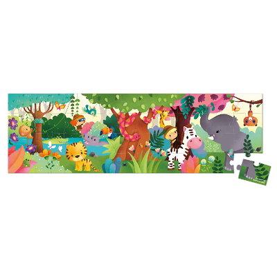 Janod Jungle panorama puzzel - 36 stkjs