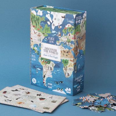 Londji Discover the World! puzzel