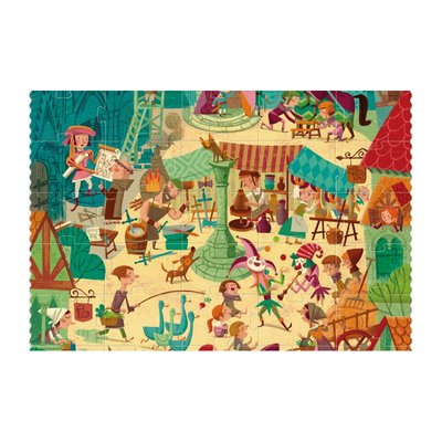Londji Go To Medieval Times - puzzel 100 stukjes