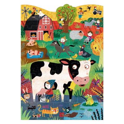 Londji - Moo - boerderij dieren puzzel