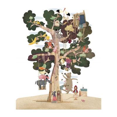 Londji pocketpuzzel - My Tree (100 stukjes)