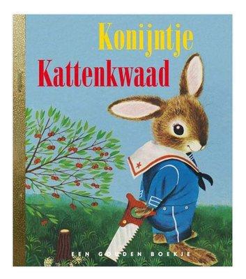 Konijntje Kattenkwaad - gouden boekje