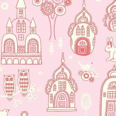 Behang Majvillan Palace Garden Pink