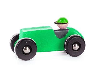 Retro auto - groen