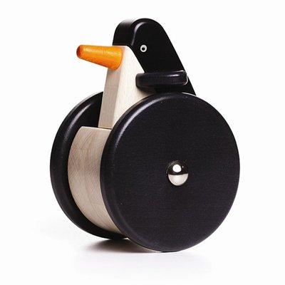 Houten wiebel pinguin